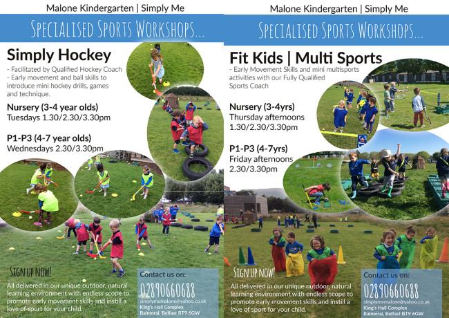 sport leaflets